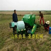 青储玉米秸秆打捆包膜机 青储玉米秸秆打捆机价格