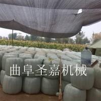 新型青贮打捆包膜机生产厂家  饲料打包机报价