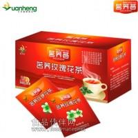茗荞荟 苦荞玫瑰花茶 特产 绿色更健康